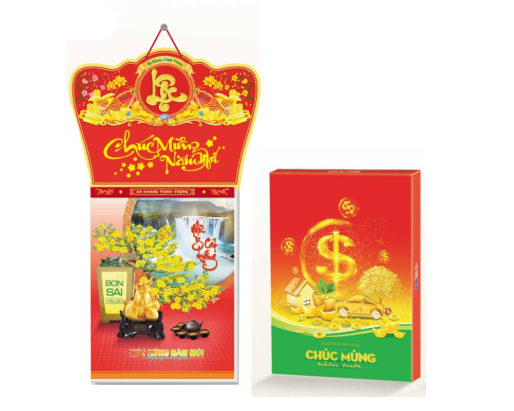 Bộ Lịch 52 Tuần Bonsai Tài lộc